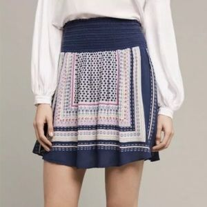 Anthropologie Holding Horses Andie A-Line Skirt